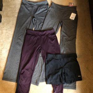 Yoga pants, shorts, legging lot
